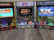 bornes d'arcade qu'on accroche