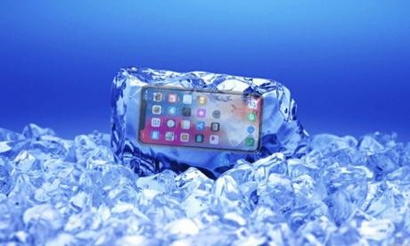 L'iPhone X n'aime pas le froid