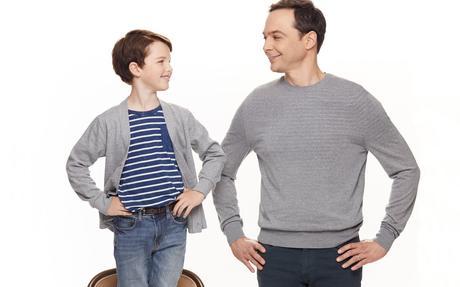 White Famous/ Young Sheldon (2017) : un homme enfant et son contraire