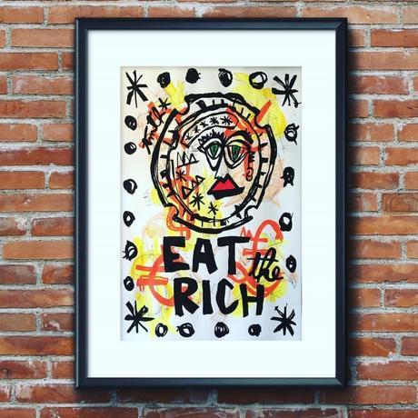 Exposition «Eat the Rich» de TMTH à la Maison de Région Béziers