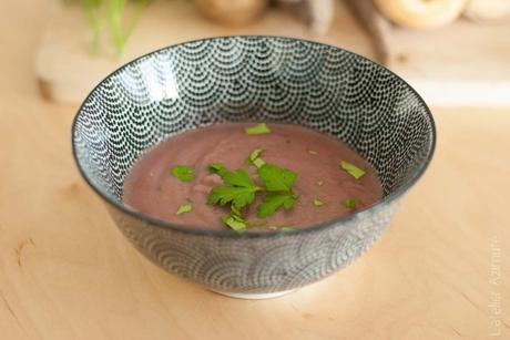 Ma soupe violette d'automne : carotte et panais