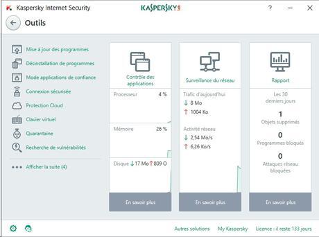 Avis sur Kaspersky Internet Security 2018