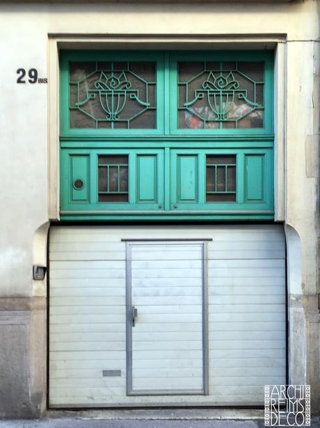 Portes de la rue du Clou dans le Fer