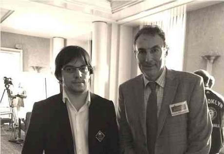 Maxime Vachier-Lagrave et Philippe Dornbusch - Photo © Chess & Strategy