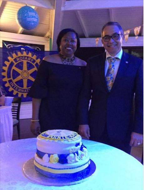Happy birthday Rotary Club de Pointe-à-Pitre Doyen