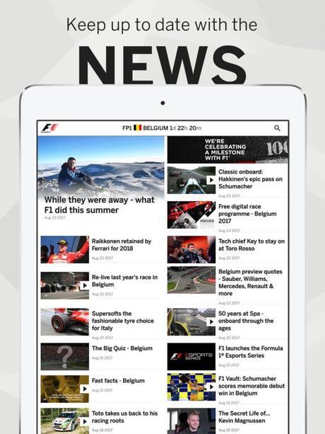 App du jour : Formula 1 (iPhone & iPad)