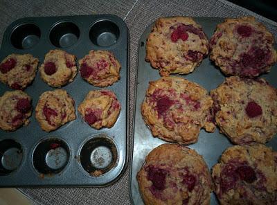 les Muffin aux framboises