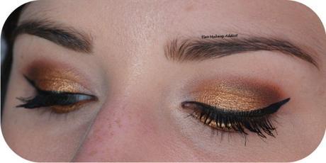 Warm Gold Makeup {Jaclyn Hill x Morphe}
