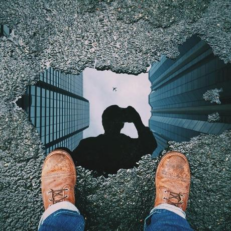 Reflets (photoshoppés)