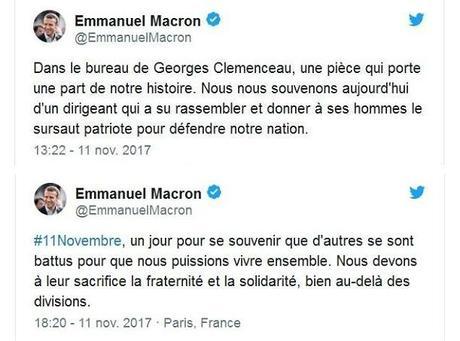 Clemenceau, Macron et la guerre civile européenne (1)