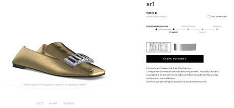 Sergio Rossi, propose ses délicieux slippers personnalisés