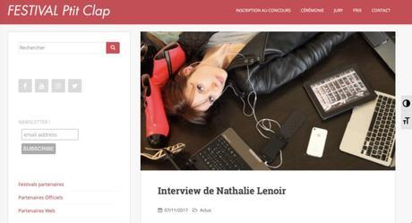 Une interview pour le festival Ptit Clap