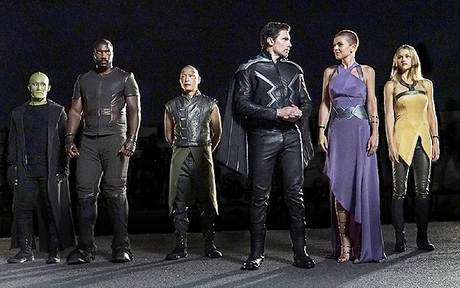 Les critiques // Inhumans : Saison 1. Episode 8. ...And Finally: Black Bolt.
