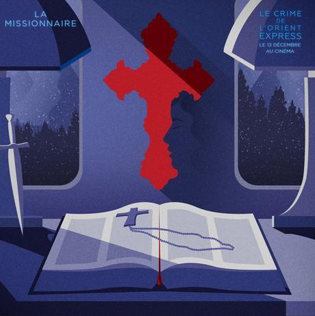 13 visuels en trompe l'oeil pour «Le Crime de l'Orient-Express»