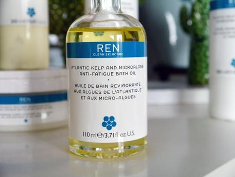 La gamme de soins corps aux algues de l'Atlantique et au magnésium Ren Skincare