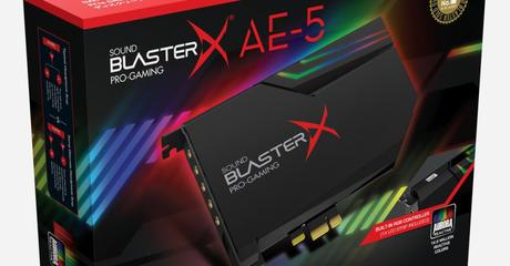 carte son Creative sound blasterX AE-5 screen