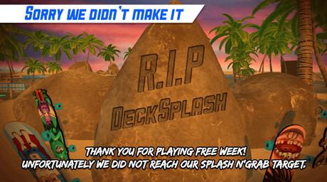Decksplash arrête son développement
