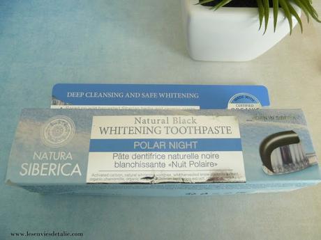 Dentifrice Nuit Polaire de Natura Siberica, pour des dents plus blanches