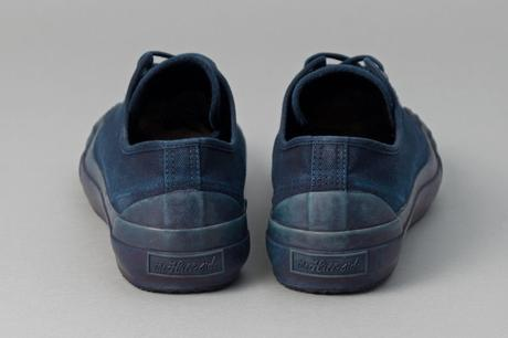 THE HILL-SIDE – F/W 2017 – INDIGO DYED LOW TOPS