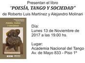 Présentation nouvel ouvrage Martínez-Molinari Academia Nacional Tango [Disques Livres]