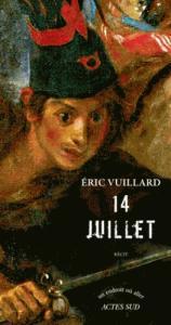 14 juillet d'Eric Vuillard