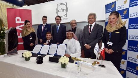 Gulf Air et CFM signent un contrat de moteurs LEAP-1A et de services