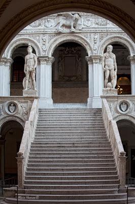 L'escalier des Géants au Palais des Doges