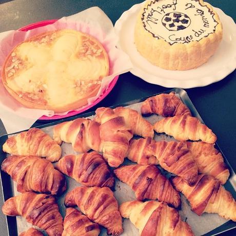 CAP blanc : charlotte, croissants, tarte bourdaloue
