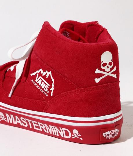 Mastermind Vans Mountain Edition Red