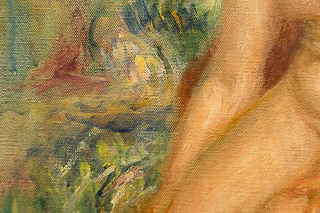 Auguste Renoir, Baigneuse assise s'essuyant une jambe