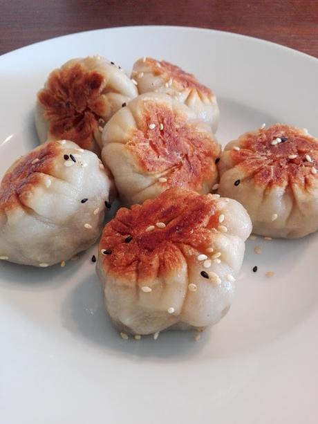 Sheng jian bao au beef 牛肉生煎包