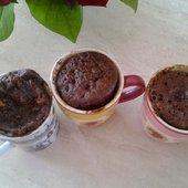 Mug brownies - La cuisine de poupoule