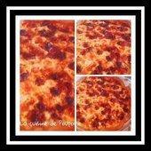 Quiche mozza chorizo au thermomix ou sans - La cuisine de poupoule