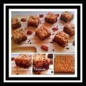 Délice craquant au noix de pécan et chocolat au thermomix ou sans - La cuisine de poupoule