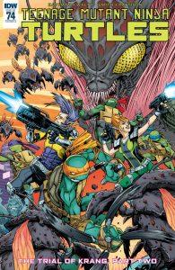 Teenage Mutant Ninja Turtles #74, Teenage Mutant Ninja Turtles #75, Infinite Loop: Nothing But the Truth #2