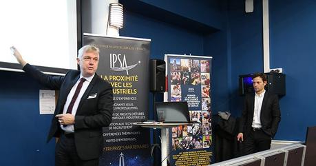 L'IPSA et l'IPSOS inaugurent le premier Observatoire des métiers de l'air et de l'espace