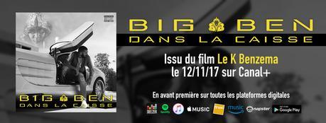 #Musique : DÉCOUVREZ DANS LA CAISSE BO du film LE K BENZEMA diffusé sur CANAL + !