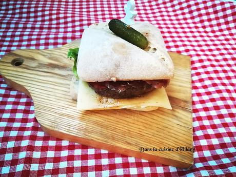 Burger pour temps froid - Dans la cuisine d'Hilary