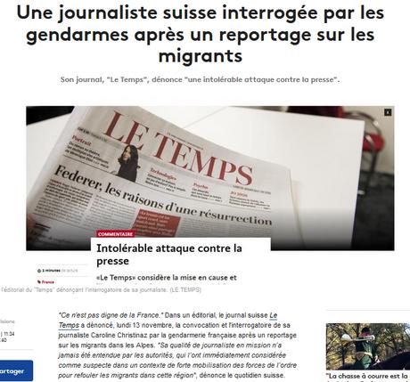 la liberté de la presse gravement mise en danger par le despote Macron 1er
