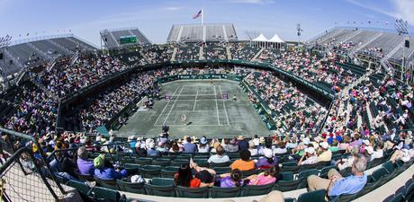 Family Circle Tennis Center Vue generale