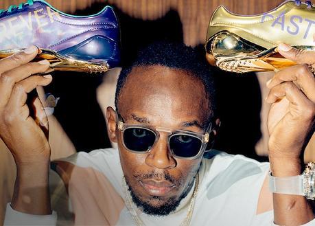 Usain Bolt fait son shopping «sneakers» avec Complex