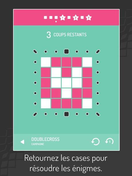 Jeu du jour : Invert – Tile Flipping Puzzles (iPhone & iPad)