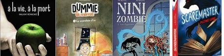 [Mini-chroniques] A la vie, à la mort - Dummie la momie - Nini Zombie Tome 2