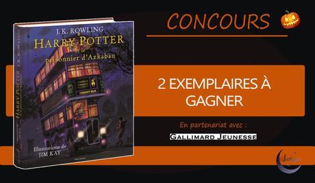 Résultats du Concours Harry Potter 3 illustré par Jim Kay.