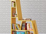bibliothèque design pour enfants