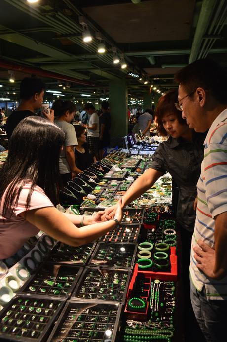 Au marché de jade