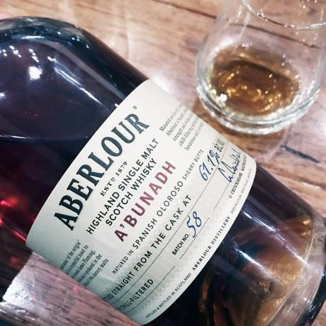 Aberlour A'bunadh straight from the cask at 61,1% vol. @gentilgourmet