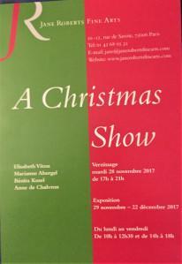 Jane ROBERTS Fine Arts  « A Christmas Show »