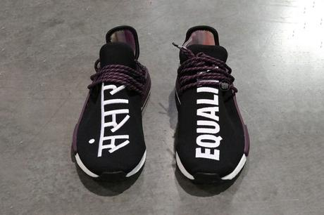 Pharrell x Adidas NMD HU Trail Black Canvas