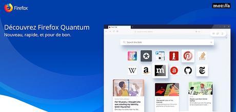 Firefox « Quantum » est arrivé : la nouvelle génération du navigateur de Mozilla déclare la guerre à Google Chrome